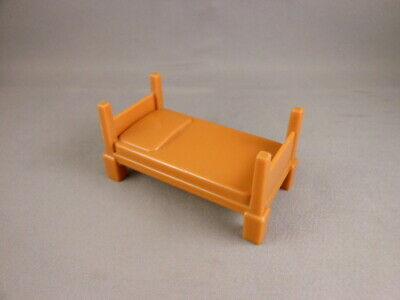 REPLACEMENT PART ONLY Brown Bed For Imaginext Firehouse Fire Station Playset • 7.23£