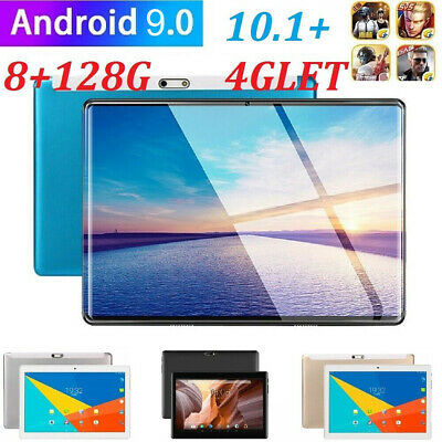 AU85.98 • Buy 10.1  Android 9.0 WIFI/4G-LTE 8G+128G Tablet PC Bluetooth GPS Pad HD Dual Camera