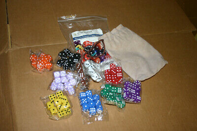 AU32.35 • Buy YMI Ultimate Rounded 6-Sided Dice Set - 100 Dice, 16 Mm