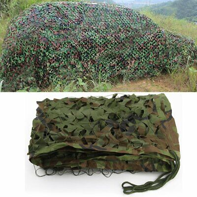 $17.90 • Buy Woodland Camouflage Netting Jungle Military Army Camping Hide Shade Cover 13x5ft