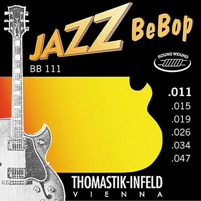 $ CDN28.53 • Buy Thomastik-Infeld BeBop Acoustic Electric Jazz Strings BB111 Extra Light 11-47