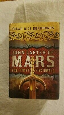 John Carter Of Mars 1-5 Edgar Rice Burroughs (Omnibus Edition,Fall River Press) • 19.99$