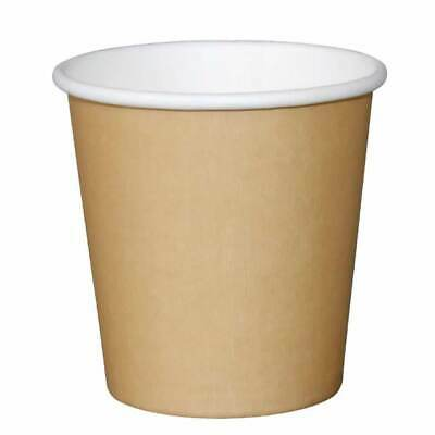 AU15.15 • Buy 4 Oz 120ml Brown Disposable Coffee Espresso Paper Cup Shot Expresso Tasting Wall