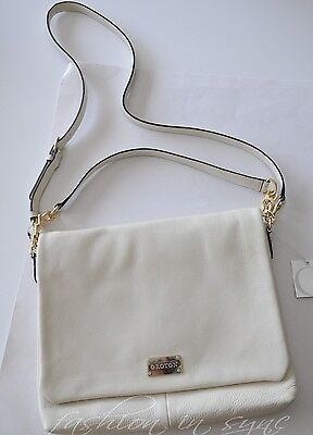 AU215 • Buy OROTON Meyer Hobo Leather Shoulder Crossbody Bag Ivory Leather XMAS SALE