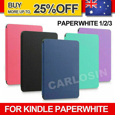 AU8.95 • Buy For Amazon KINDLE Paperwhite 1/2/3 Flip Leather Folio Case Cover Slim Magnetic