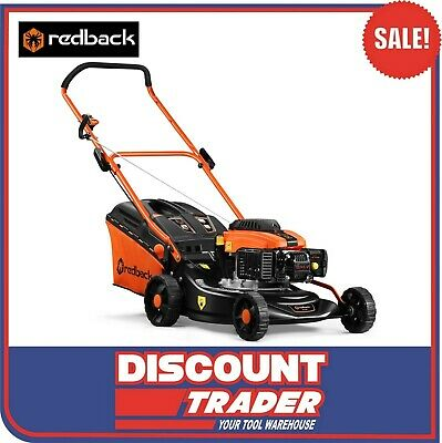 AU289 • Buy RedBack 17″ Compact Petrol OHV 99cc Push Lawn Mower S421-A - S421A