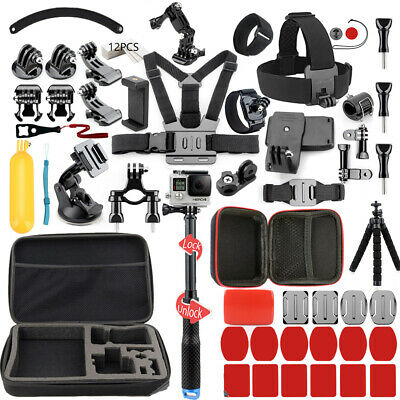 $ CDN70.40 • Buy L Size Bag Accessories Kit For GoPro Hero9 8 Black 7 6 5 Session 4 /SJCAM / EKEN