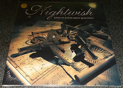 Nightwish-endless Forms Most Beautiful-2015-10  Gold Vinyl-100 Only-new & Sealed • 39.99£