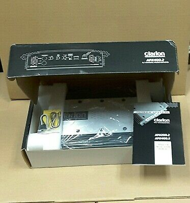 $ CDN300.55 • Buy Clarion APX400.2  Amplifier * 2 Channel * Bridgeable * With OEM Box And Manual