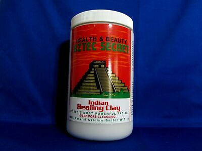 AU26.32 • Buy Aztec Indian Secret Healing Clay - Big 2lb Jar -Deep Cleansing Facial Body Mask