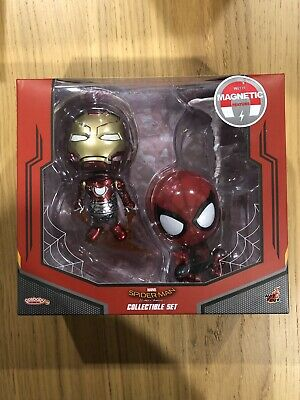 $ CDN198.45 • Buy Hot Toys Cosbaby Spider-man Homecoming Collectable Set With Magnetic Feature