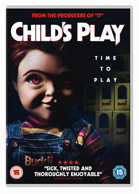 Child's Play DVD (2019) Aubrey Plaza, Klevberg (DIR) Cert 15 Fast And FREE P & P • 6.07£