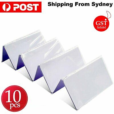 AU9.99 • Buy 10 PCS NTAG215 NFC White Pvc Card Tag For TagMo Forum Switch Type2  Tags Chip