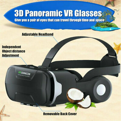 AU74.99 • Buy HD Virtual Reality Headset Controller VR Goggles For TV 3D Movies & Video Games