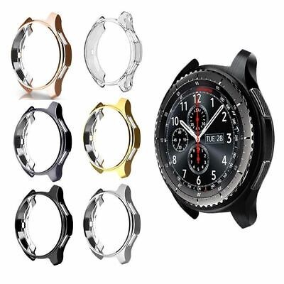 £6.97 • Buy For Samsung Galaxy Watch 42mm 46mm Accessories TPU Plating Protection Case Cover