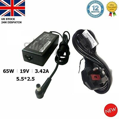 For Toshiba Satellite L850-1d5 Replacement Laptop Charger Power Supply Adaptor • 10.82£