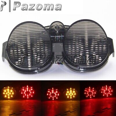 $23.91 • Buy Smoke Integrated LED Tail Light Turn Signals For Yamaha YZF R6 YZF-R6 2001-2002