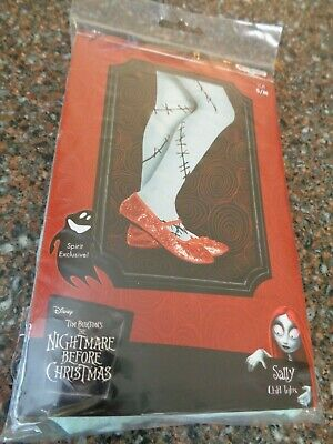 $22.99 • Buy Sally Costume Tights CHILD Small / Medium Ages 4-8 Nightmare Before Christmas