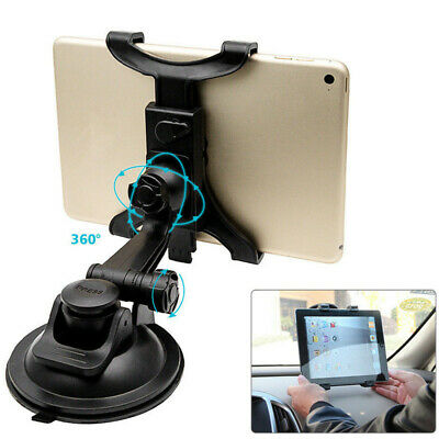 Universal In Car Suction Mount 360° Holder IPad & Samsung Galaxy Tablet 7 To 11  • 7.29£
