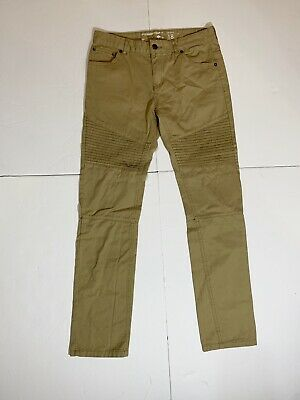 $ CDN33.51 • Buy Lifted Research Group Slim Straight Pants Size 18 Khaki Pleated