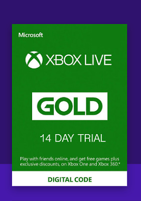 $15.20 • Buy Xbox Live Gold 14 Days TRIAL Xbox Live Key GLOBAL (Fast Delivery..