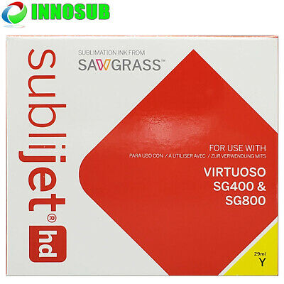 SubliJet HD Sublimation Yellow Ink Cartridge For Virtuoso SG400/SG800 - 29ml • 64.37£