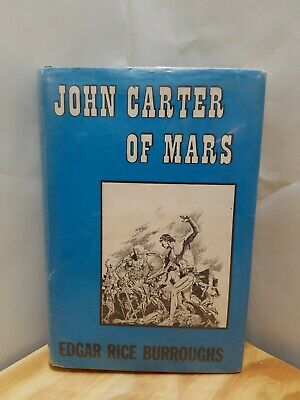 John Carter Of Mars | Edgar Rice Burroughs | First Edition | 1964 HC Dust Jacket • 119.97$