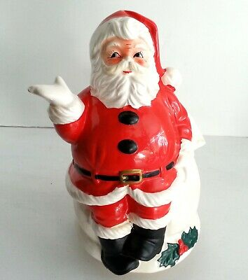 $ CDN26.70 • Buy Christmas Santa Claus Is Coming To Town Music Box Vintage Berman Anderson 1960s