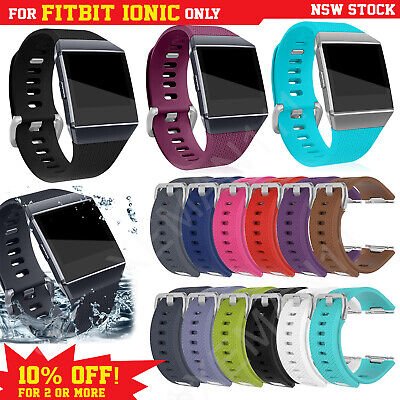 AU6.95 • Buy Fitbit Ionic Band Smart Watch Replacement Wristband Soft Strap Sports Bracelet