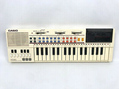 $56.95 • Buy VINTAGE CASIO PT-80 MUSICAL Electronic KEYBOARD + RO-551 ROM PACK Tested WORKING
