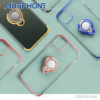 AU6.99 • Buy For Apple IPhone 12 11 Pro XS Max XR Shockproof Silicone Ring Case Slim Cover