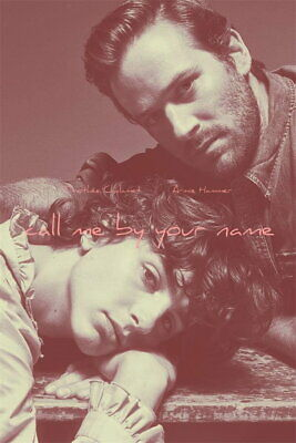 AU34.95 • Buy 63034 Call Me By Your Name Wall Print POSTER AU