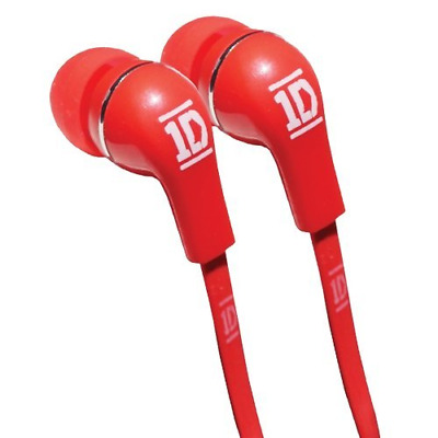 One Direction In-Ear Headphones - Jellies/Red • 7.29£