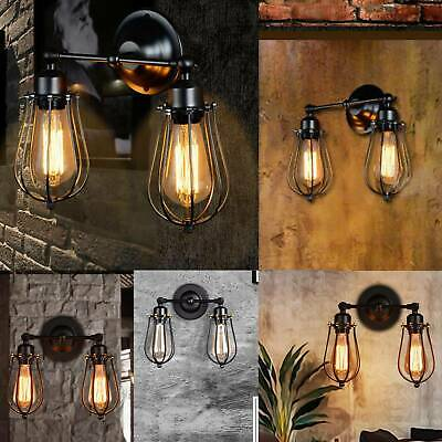 £16.49 • Buy Modern Vintage Industrial Wall Mounted Light Rustic Sconce Lamp Fixture Light UK