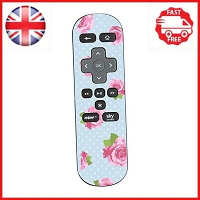 Stika.co Blue Shabby Chic Design Sticker For Sky Now TV Remote Controller • 3.06£