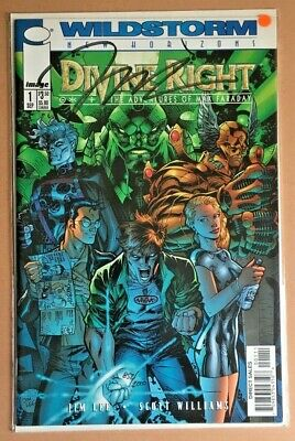 Dynamic Forces Divine Right #1 Signed By Jim Lee. Limited 0852/2000 Sealed • 17£