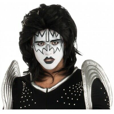 $20.99 • Buy The Spaceman Costume Wig KISS Adult Mens 70s Rockstar Ace Frehley Halloween
