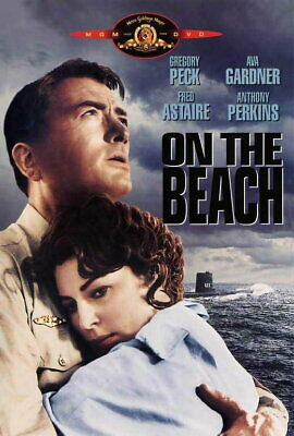 69428 On The Beach Movie Gregory Peck, Ava Gardner Wall Print POSTER UK • 13.95£