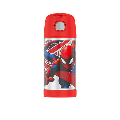 AU24.95 • Buy NEW Thermos Funtainer Insulated Drink Bottle 355ml Spider Man (RRP $33)