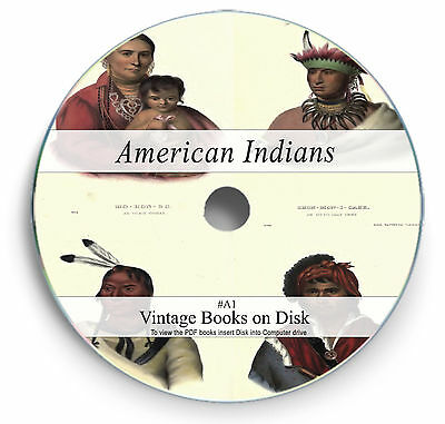 £3.90 • Buy Rare Books On Dvd - Native North American Indians History Culture Art Battles A1