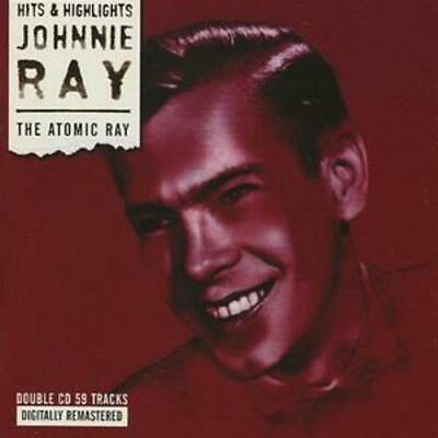 Johnnie Ray : The Atomic Ray CD 2 Discs (2019) ***NEW*** FREE Shipping, Save £s • 9.41£
