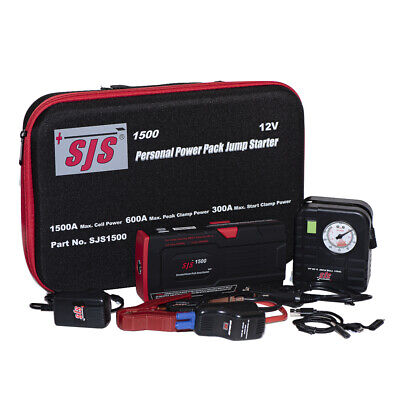 AU312 • Buy SJS SJS1500TP Power Pack Jump Starter Charger - Lithium 1500 Amp Inc Tyre Pump