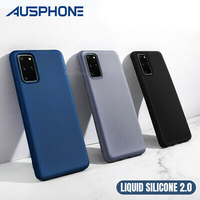 AU9.95 • Buy Shockproof Silicone Cover Slim Case For Samsung S21 S10 S20 Plus Ultra FE Note20