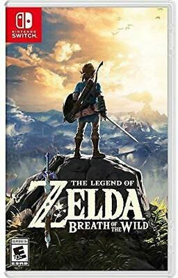 The Legend Of Zelda: Breath Of The Wild - Nintendo Switch • 58$
