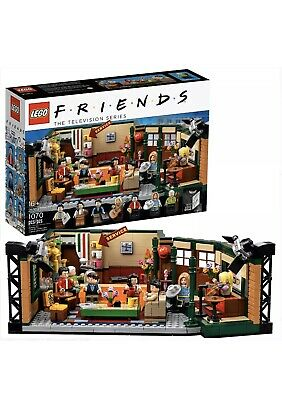 Lego Friends Central Perk Cafe Ideas Set 21319 *IN HAND* • 85$