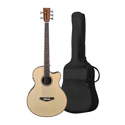 AU359 • Buy Artist ABJ605CEQ 5-String Acoustic Electric Bass With EQ + Bag - New