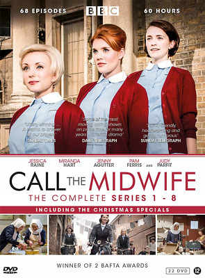 Call The Midwife - Complete Collection Series 1 + 2 + 3 + 4 + 5 + 6 + 7 + 8 + • 80.38£