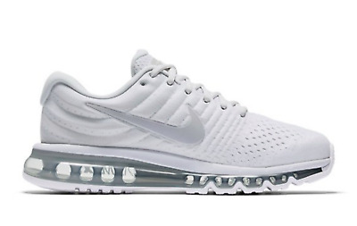 $119.99 • Buy Nike Air Max 2017 Mens Running Shoes Pure Platinum Grey NIB 849559 009
