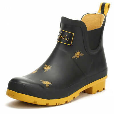 Joules Womens Wellibob Closed Toe Ankle Cold Weather Boots, Black Bee, Size 10.0 • 30.81$