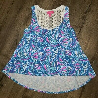 Lilly Pulitzer For Target My Fans Tank Top Size Small • 21.99$